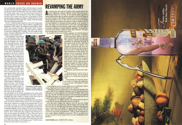 Article Preview: REVAMPING THE ARMY, December 1994 | Maclean's