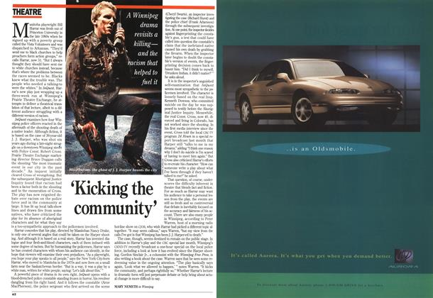 Article Preview: 'Kicking the community, December 1994 | Maclean's