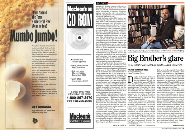 Article Preview: Big Brother's glare, December 1994 | Maclean's