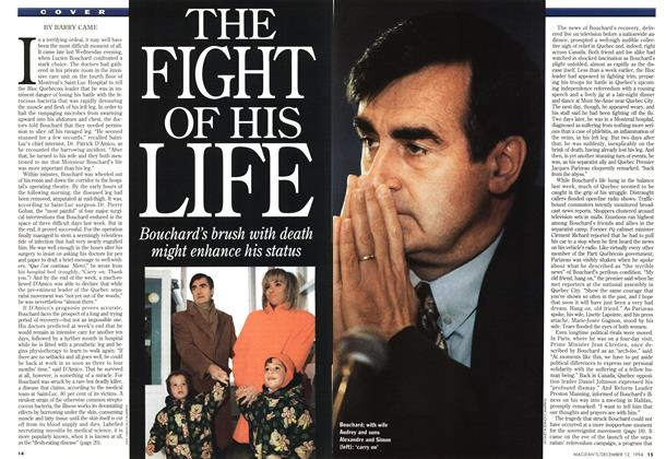 Article Preview: THE FIGHT OF HIS LIFE, December 1994 | Maclean's