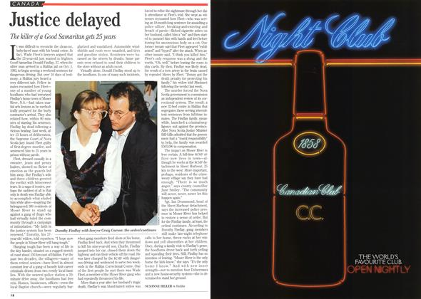 Article Preview: Justice delayed, December 1994 | Maclean's