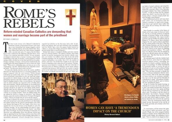 Article Preview: ROME'S REBELS, December 1994 | Maclean's