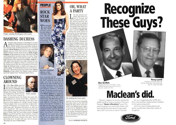 Article Preview: PEOPLE, December 1994 | Maclean's