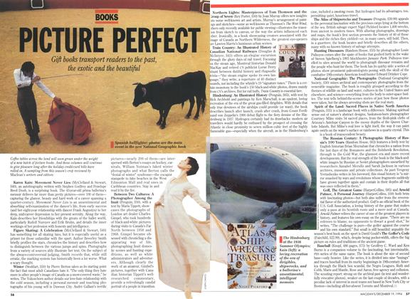 Article Preview: PICTURE PERFECT, December 1994 | Maclean's