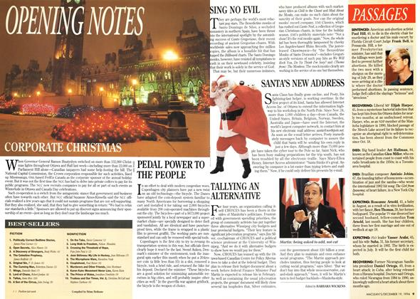 Article Preview: OPENNG NOTES, December 1994 | Maclean's