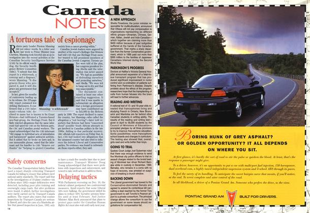 Article Preview: Canada NOTES, December 1994 | Maclean's