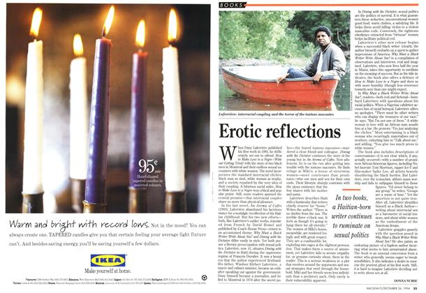Article Preview: Erotic reflections, December 1994 | Maclean's