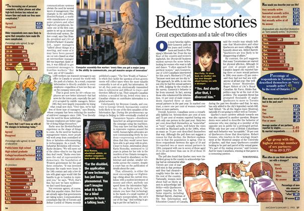 Article Preview: Bedtime stories, January 1995 | Maclean's