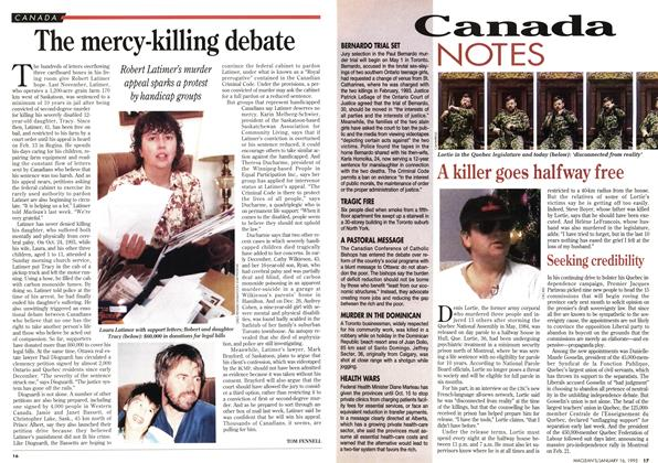 Article Preview: Canada NOTES, January 1995 | Maclean's