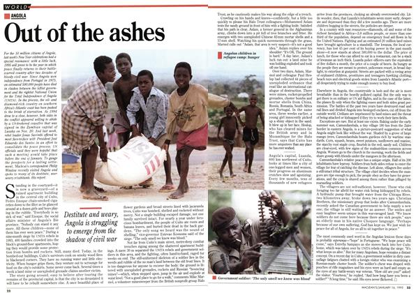 Article Preview: Out of the ashes, January 1995 | Maclean's