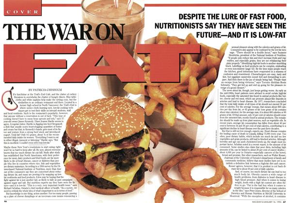 Article Preview: THE WAR ON FAT, January 1995 | Maclean's