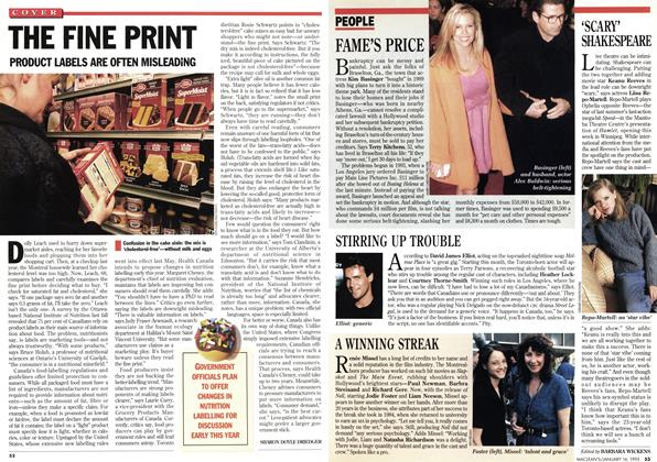 Article Preview: THE FINE PRINT, January 1995 | Maclean's