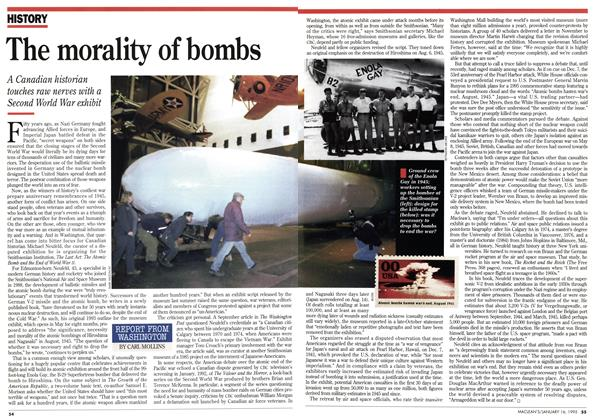 Article Preview: The morality of bombs, January 1995 | Maclean's