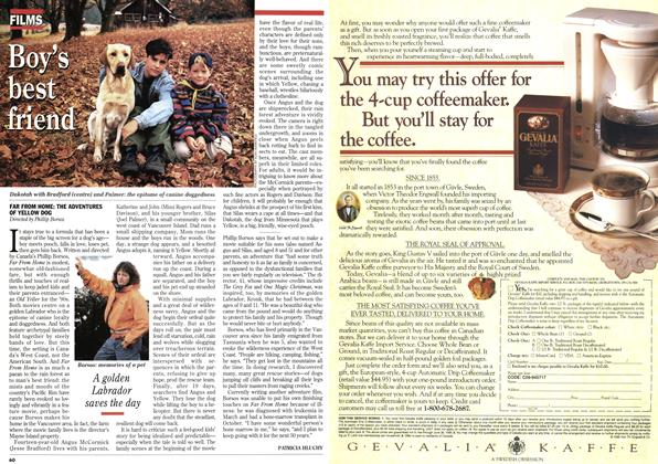 Article Preview: Boy's best friend, January 1995 | Maclean's