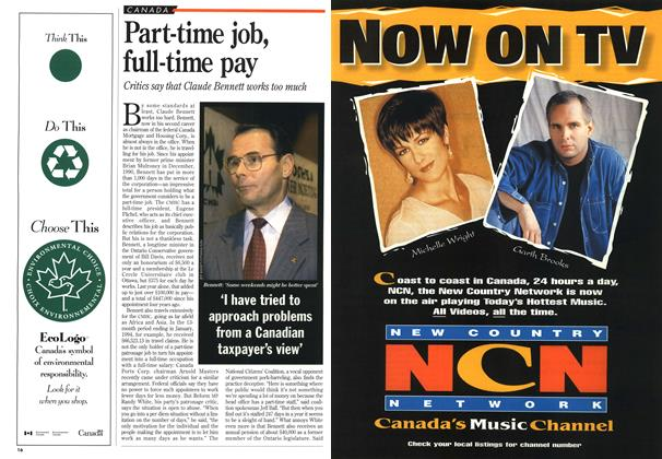 Article Preview: Part-time job, full-time pay, January 1995 | Maclean's