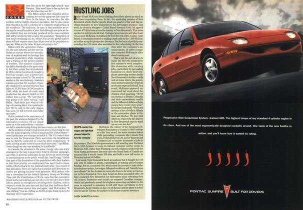 Article Preview: HUSTLING JOBS, January 1995 | Maclean's