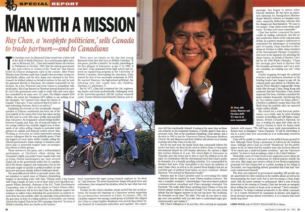 Article Preview: MAN WITH A MISSION, January 1995 | Maclean's