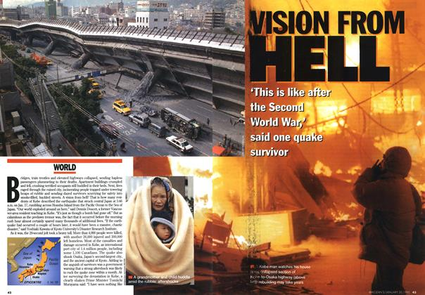 Article Preview: VISION FROM HELL, January 1995 | Maclean's