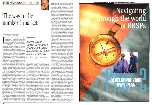 Article Preview: The way to the number 1 market, January 1995 | Maclean's