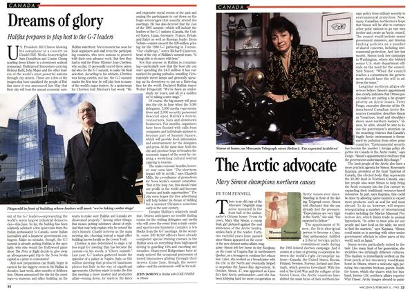 Article Preview: The Arctic advocate, February 1995 | Maclean's