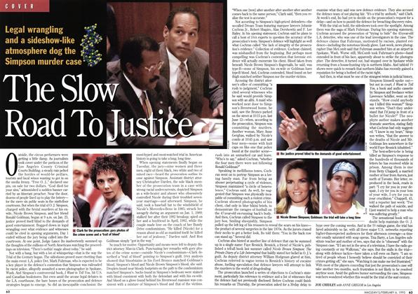 Article Preview: The Slow Road To Justice, February 1995 | Maclean's