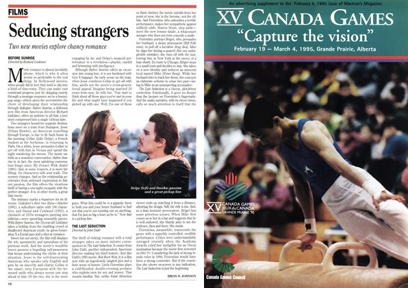 Article Preview: Seducing strangers, February 1995 | Maclean's