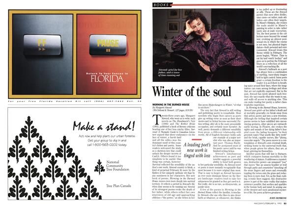 Article Preview: Winter of the soul, February 1995 | Maclean's