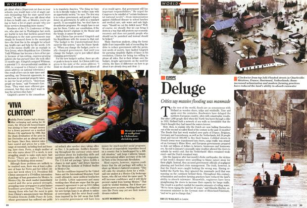 Article Preview: Deluge, February 1995 | Maclean's