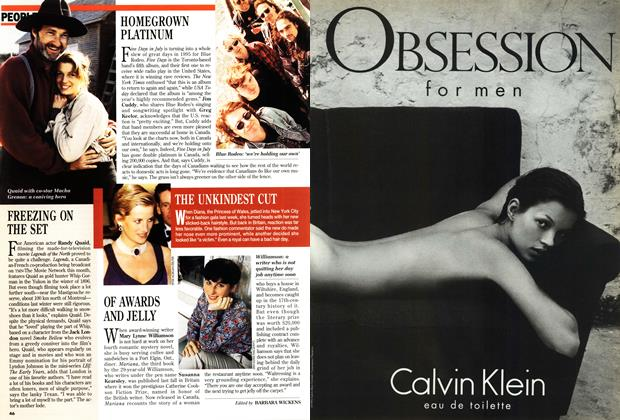 Article Preview: PEOPLE, February 1995 | Maclean's
