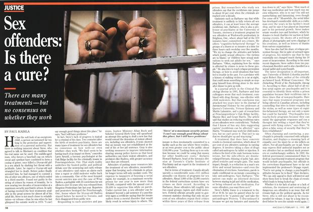 Article Preview: Sex offenders: Is there a cure?, February 1995 | Maclean's