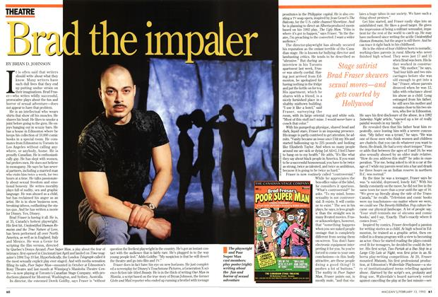 Article Preview: Brad the impaler, February 1995 | Maclean's