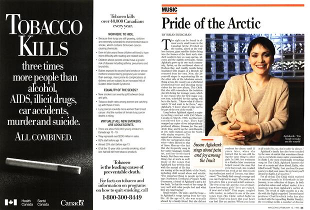 Article Preview: Pride of the Arctic, February 1995 | Maclean's