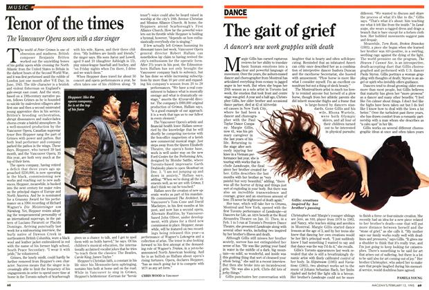 Article Preview: Tenor of the times, February 1995 | Maclean's