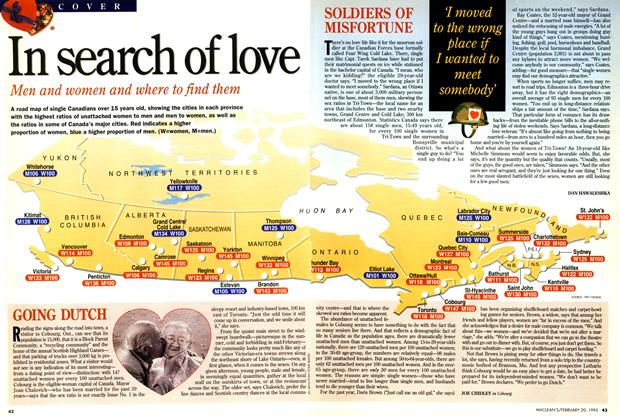 Article Preview: In search of love, February 1995 | Maclean's