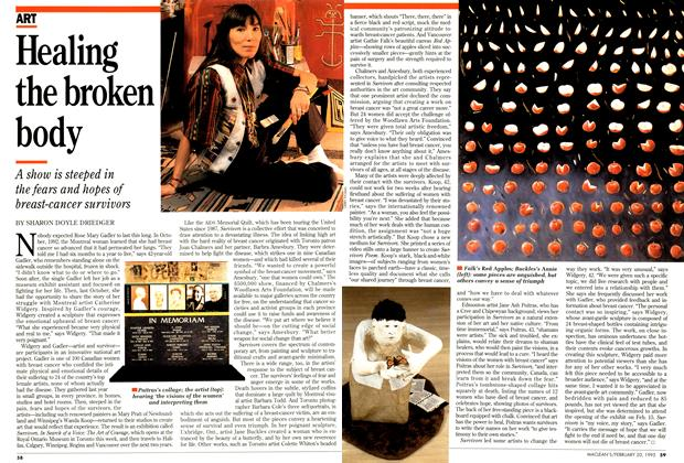 Article Preview: Healing the broken body, February 1995 | Maclean's