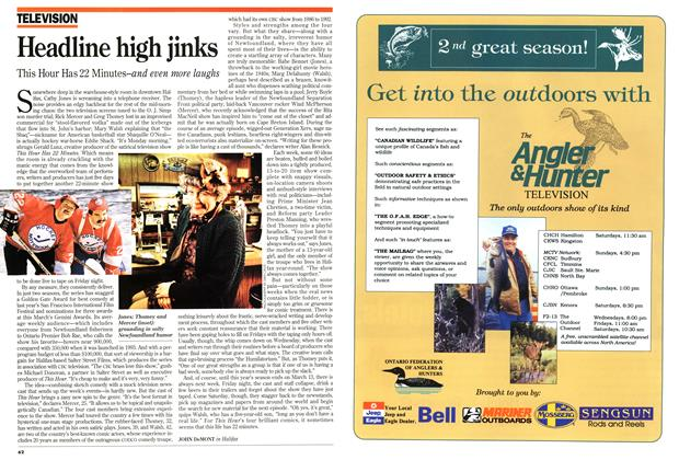 Article Preview: Headline high jinks, February 1995 | Maclean's