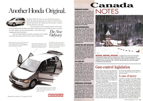 Article Preview: Canada NOTES, February 1995 | Maclean's