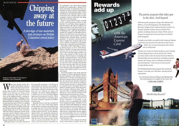 Article Preview: Chipping away at the future, February 1995 | Maclean's