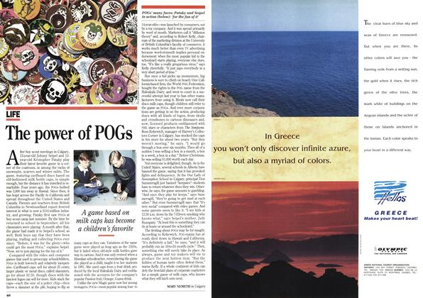 Article Preview: The power of POGs, February 1995 | Maclean's
