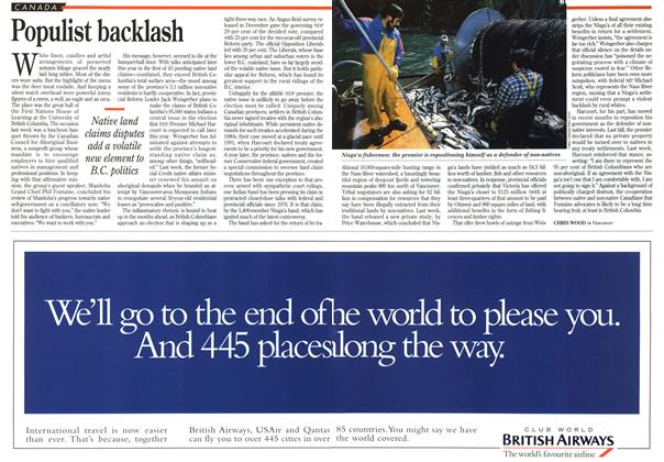 Article Preview: Populist backlash, March 1995 | Maclean's