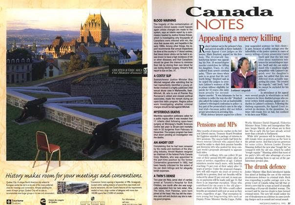 Article Preview: Canada NOTES, March 1995 | Maclean's