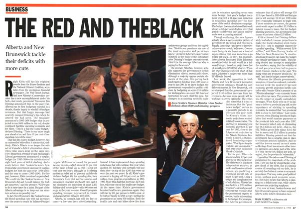 Article Preview: THE RED AND THE BLACK, March 1995 | Maclean's