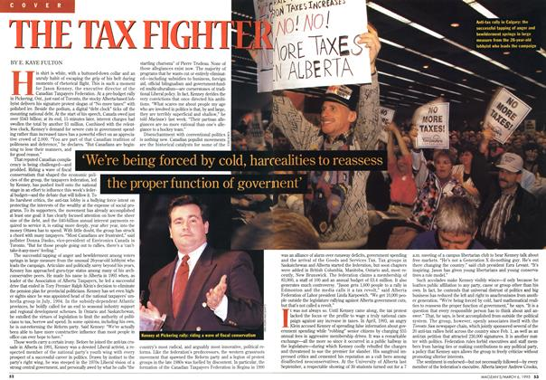 Article Preview: THE TAX FIGHTER, March 1995 | Maclean's