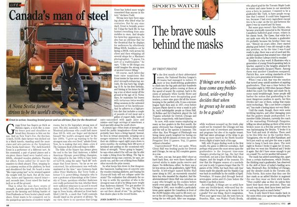 Article Preview: Canada's man of steel, March 1995 | Maclean's