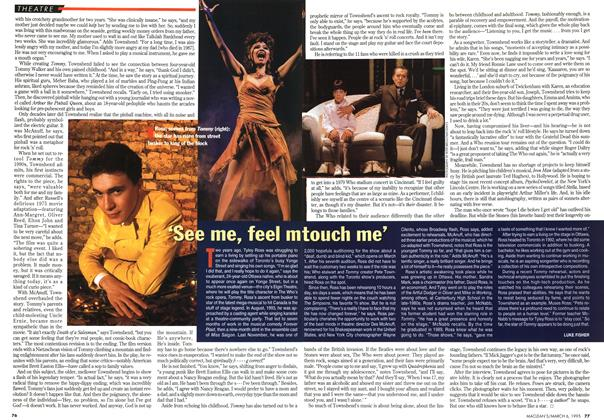 Article Preview: 'See me, feel m touch me', March 1995 | Maclean's