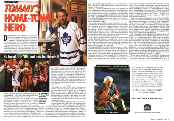 Article Preview: TOMMY'S HOME-TOWN HERO, March 1995 | Maclean's