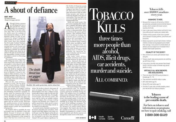 Article Preview: A shout of defiance, March 1995 | Maclean's