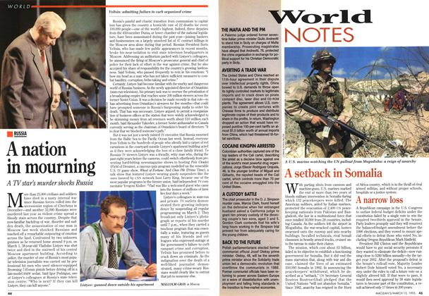 Article Preview: World NOTES, March 1995 | Maclean's
