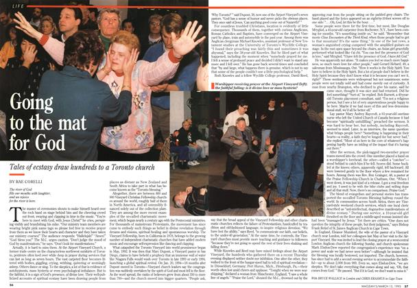 Article Preview: Going to the mat for God, March 1995 | Maclean's