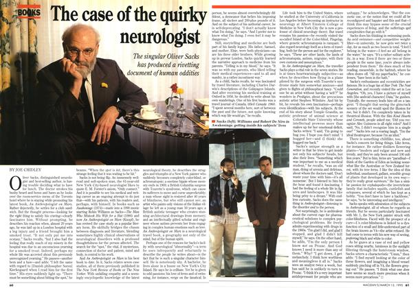 Article Preview: The case of the quirky neurologist, March 1995 | Maclean's